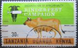 Poštovní známka K-U-T 1971 Boj proti moru skotu Mi# 221