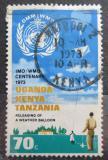Poštovní známka K-U-T 1973 WMO, 100. výročí Mi# 248
