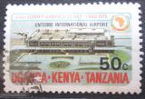 Poštovní známka K-U-T 1975 Letiště Entebbe Mi# 295