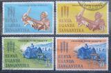Poštovní známky K-U-T 1963 Boj proti hladu Mi# 124-27