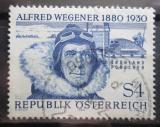 Poštovní známka Rakousko 1980 Alfred Wegener, vědec Mi# 1660