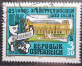 Poštovní známka Rakousko 1985 Festival v Bad Ischl Mi# 1820