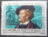 Poštovní známka Rakousko 1986 Richard Wagner Mi# 1849