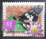 Poštovní známka Austrálie 1997 Motýl Mi# 1632