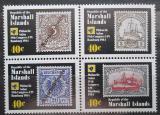Poštovní známky Marshallovy ostrovy 1984 Kongres UPU Mi# 15-18