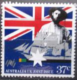 Poštovní známka Austrálie 1988 Vlajka Mi# 1114