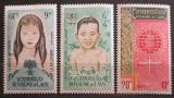 Poštovní známky Laos 1962 Boj proti malárii Mi# 121-23