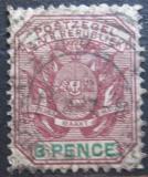 Poštovní známka Transvaal, JAR 1896 Znak Mi# 52