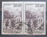 Poštovní známky Francie 1937 Turistika, pár Mi# 350