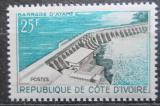 Poštovní známka Pobřeží Slonoviny 1961 Přehrada Ayamé Mi# 232