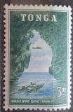 Poštovní známka Tonga 1953 Skalní jeskyně Mi# 103
