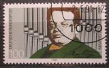 Poštovní známka Německo 1991 Max Reger, skladatel Mi# 1529