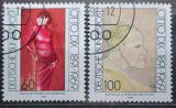 Poštovní známky Německo 1991 Umění, Otto Dix Mi# 1572-73