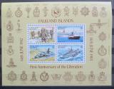 Poštovní známky Falklandské ostrovy 1983 Osvobození, 1. výročí Mi# Block 3