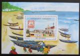 Poštovní známka Togo 1984 Přátelství s Německem Mi# Block 213