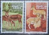 Poštovní známka Alžírsko 1968 Ohrožená zvířata Mi# 510-11
