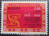 Poštovní známka Alžírsko 1969 ILO, 50. výročí Mi# 526