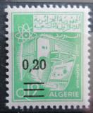 Poštovní známka Alžírsko 1969 Elektronické centrum přetisk Mi# 527