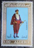 Poštovní známka Alžírsko 1975 Tradiční oděv Mi# 647