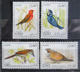 Poštovní známky Alžírsko 1976 Ptáci Mi# 673-76 Kat 12€