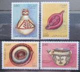 Poštovní známky Alžírsko 1984 Hrnčířské výrobky Mi# 846-49