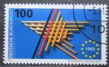 Poštovní známka Německo 1992 Jednotný evropský trh Mi# 1644