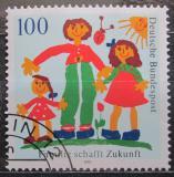 Poštovní známka Německo 1992 Rodinný život Mi# 1621