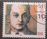 Poštovní známka Německo 1992 Jochen Klepper, spisovatel Mi# 1643