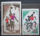 Poštovní známky Gabon 1965 Sportovní hry Mi# 225-26