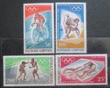 Poštovní známky Gabon 1968 LOH Mexiko Mi# 308-11 I Kat 10€