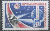 Poštovní známka Gabon 1970 ITU, zpravodajský satelit Mi# 359