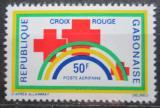 Poštovní známka Gabon 1971 Gabonský červený kříž Mi# 442