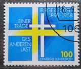 Poštovní známka Německo 1993 Birger Forell, švédský kněz Mi# 1693