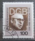 Poštovní známka Německo 1994 Willi Richter, politik Mi# 1753