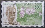 Poštovní známka Gabon 1975 Albert Schweitzer Mi# 549 Kat 9€