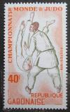 Poštovní známka Gabon 1979 MS v judu Mi# 714