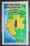 Poštovní známka Gabon 1981 Skautský kongres Mi# 797