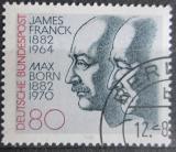 Poštovní známka Německo 1982 Lékaři, Nobelova cena Mi# 1147