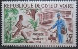 Poštovní známka Pobřeží Slonoviny 1961 Den známek Mi# 231