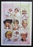 Poštovní známky Čad 1997 Princezna Diana Mi# 1533-41