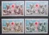 Poštovní známky Dahomey 1962 Červený kříž Mi# 196-99