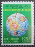 Poštovní známka Gabon 1984 Den pošty Mi# 920