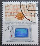 Poštovní známka Německo 1984 Kongres archivářů Mi# 1224