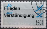 Poštovní známka Německo 1984 Mír a porozumění Mi# 1231
