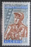 Poštovní známka Alžírsko 1968 Alžírský dělník Mi# 502