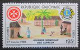 Poštovní známka Gabon 1985 Vesnice nemocných leprou Mi# 927