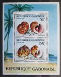 Poštovní známky Gabon 1987 Mušle Mi# Block 57