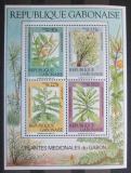 Poštovní známky Gabon 1988 Léčivé rostliny Mi# Block 58 Kat 12€