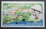 Poštovní známka Gabon 1988 Albert Schweitzer Mi# 1015 Kat 6.50€