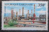 Poštovní známka Gabon 1988 Ropná rafinérie Mi# 1020 Kat 4€